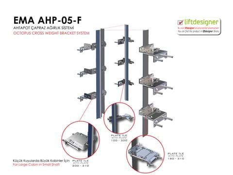 EMA AHP-05-F OCTOPUS CROSS WEIGHT BRACKET SYSTEM