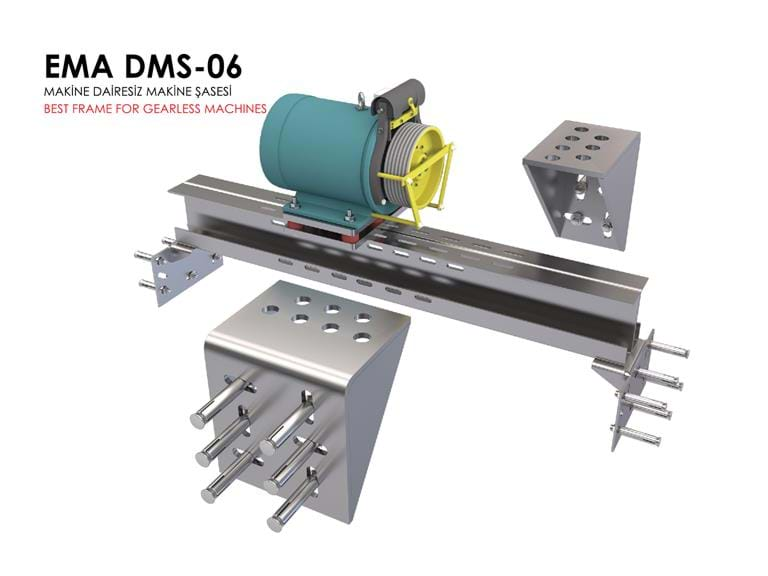 Chassis De Machine DMS Gearless.